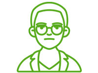 Icon of an adolescent