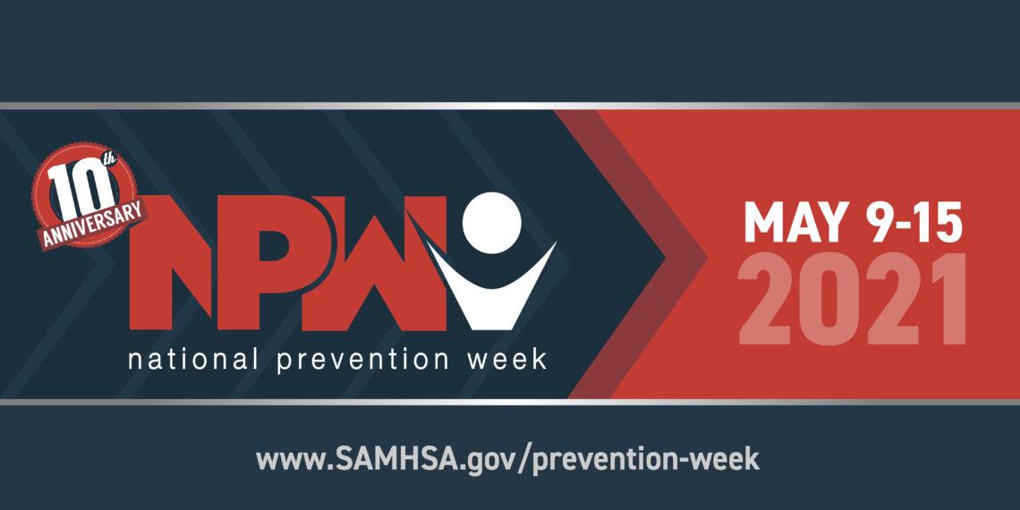 Logo for National Preventio Week 2021